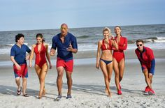 Only the strongest, fastest and flyest lifesavers in the game #Baywatch