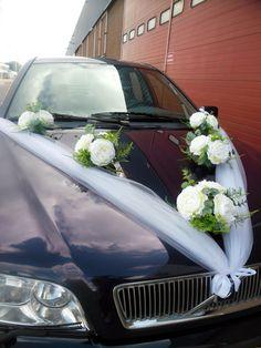 Wedding Car Decoration Boquet of Peonies от WeddingHolland на Etsy
