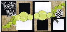 Out On A Limb Scrapbooking Premade Page Kit - Tennis Time!