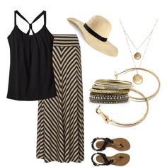 Simple Summer Chic - Polyvore