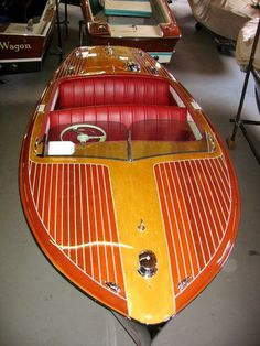 1954 Chris Craft Riviera A stylish a fun runabout . Plywood Boat Plans, Wooden Boat Plans, Cool Boats, Small Boats, Wooden Speed Boats, Duck Boat Blind, Chris Craft Boats, Runabout Boat, Yachts