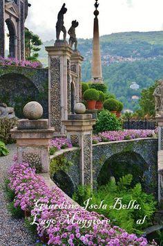Il Giardino Vascello dell'Isola bella, Stresa