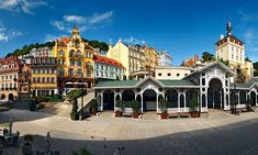 one of my favourite places outside of Prague in the Czech Republic: Karlovy Vary