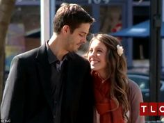 What happens next... A nervous Derick Dillard gazes at Jill Duggar just moments before he proposes to her