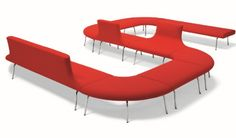 Orbit Modular Sofa allows you to plan seating around the interior. Orbit sofa comes in various shaped units to allow creative freedom for reception areas or breakout out areas. Modular Furniture, Modular Sofa, Sofa Furniture, Furniture Design, Furniture Ideas, Modern Furniture, Soft Seating, Lounge Seating, Sofa Bench