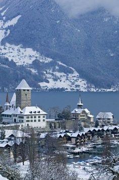 Lake Thun in Spiez, Canton of Bern | Switzerland