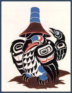 Lelooska drawing. Native Indian, Native Art, Native American Indians, Arte Haida, Haida Art, Tribal Wolf Tattoo, Wolf Tattoos, Fish Tattoos, Tlingit