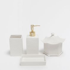 ???ItxProductPage.image.alt.nonumber??? GEOMETRIC DESIGN CERAMIC BATHROOM SET