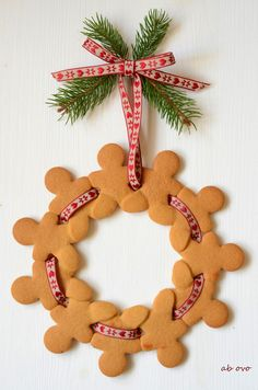 Gingerbreadmen wreath