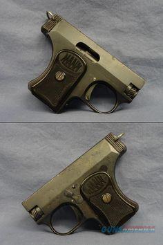 German - FRITZ MANN 6.35cal (.25ACP) Semi-Auto Pocket Pisto for sale (970549873)