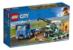 LEGO City Great Vehicles - Harvester Transport and thousands more of the very best toys at Fat Brain Toys. Build a big semi truck and a detailed harvester! The harvester features an opening minifigure cab, removable harvesting. Porsche 911 Rsr, Shop Lego, Buy Lego, Bugatti, Lego Elves, Figurine Lego, Lego Ritter, Batman Lego, Harvesting Tools