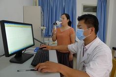 Quark PFT used at Taian Central Hospital Branch (Occupational Disease Hospital) Chinese, Chinese Language