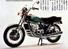 Kawasaki KH750 'Square Four' prototype