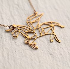 Hey, I found this really awesome Etsy listing at https://www.etsy.com/se-en/listing/254641735/unicorn-necklace-geometric-horse-pendant