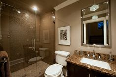 With a bathroom like this one, guests will not want to leave!