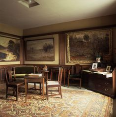 (FL) The new room at Hill Top used by Beatrix Potter for writing and drawing ❤❦♪♫