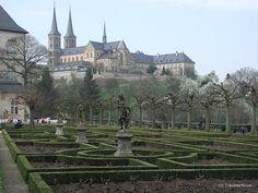 Michaelsberg Abbey in Bamberg, Germany