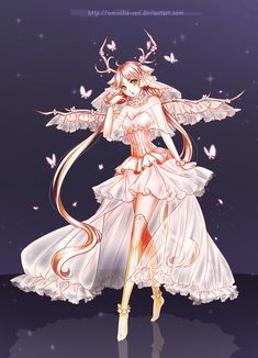 Commission: Aria by omocha-san.deviantart.com on @deviantART