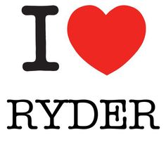 I Heart Ryder #love #heart