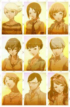 Persona 4 Golden Yukiko and Marie