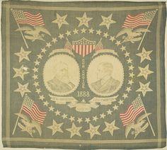 Old Political Handkerchiefs