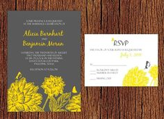 Wedding Invitations, the colors.. too pretty