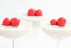 Chia Seed Pudding.  Use stevia sub.