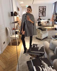 "33.6k Likes, 183 Comments - Lena Perminova (@lenaperminova) on Instagram: ""Bohemique style tonight 💣💣 wearing @bohemique"""
