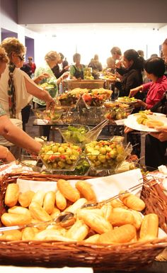 Lunch Buffet at a Conference