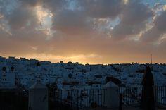 Anochecer en Vejer de la Frontera, Cadiz