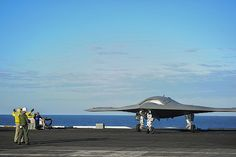 The USS Harry S. Truman (CVN-75) is the first aircraft carrier to host test operations for unmanned aircrafts. #americasnavy #usnavy navy.com