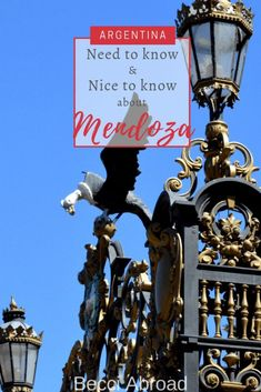 Mendoza is Argentina wine capital and a popular destination. Get all the best need-to-knows and nice-to-knows of fun and useful facts for visiting Mendoza! Croatia Travel, Thailand Travel, Italy Travel, Bangkok Thailand, Tango, Las Vegas Hotels, South America Travel, Nightlife Travel, Mendoza