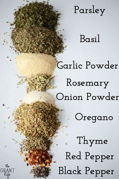 Make this homemade Italian seasoning mix with spices you probably already have on hand. Homemade Italian Seasoning, Italian Seasoning Mixes, Homemade Spices, Homemade Seasonings, Italian Spice Mix Recipe, Italian Bread Crumbs Recipe, Homemade Dry Mixes, Homemade Italian Dressing, Dry Rubs