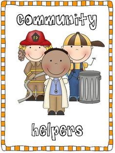 Community Helpers Cards