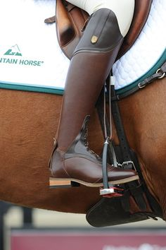 Repin/Like if you love the Mountain Horse USA Sovereign Field Boots. Available in black or brown. #mountainhorseusa