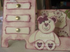 Stampin' Up! Australia - Sue Mitchell: Punch Art with Stampin' Up punches - teddy and panda card making ideas