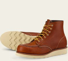 """Women's 3375 6"""" Moc Toe Oro Leather Boot 