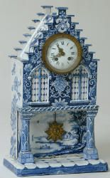 Delft Shelf Clock