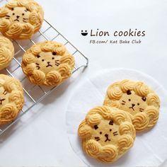Lion Cookies คุกกี้สิงโต น่ารักไม่หยอก... - Pantip Cereal, Sweets, Cookies, Breakfast, Cake, Safari, Japan, Food, Vegan Biscuits