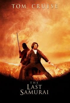 The Last Samurai... Not a Tom Cruise fan, but he was excellent in this movie