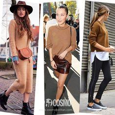 流行时尚:穿驼色大衣配铅笔裤的幸福感像热恋一样 - 由时尚COSMO(岛屿)发表 - 文学城