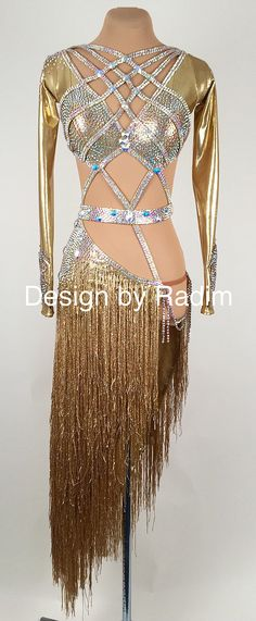 Latin Dance Dresses & Rhythm Dresses by Radim Lanik Ballroom Costumes, Belly Dance Costumes, Latin Ballroom Dresses, Ballroom Dancing, Latin Dresses, Derby, Baile Latino, Tango Dress, Salsa Dancing