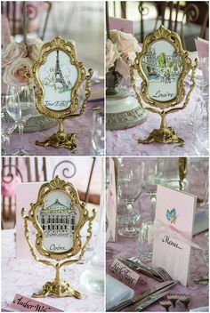 French wedding table names | On French Wedding Style with Photography © Encre Noire Eric Malemanche