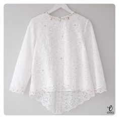 (white) Available in XS - XL Bust 86 // 92 // 96 // 100 // 106 Length Sleeve with Lining For more details and price… Sewing Dresses For Women, Trendy Dresses, Nice Dresses, Dresses With Sleeves, Kebaya Hijab, Kebaya Brokat, Kebaya Dress, Batik Fashion, Hijab Fashion