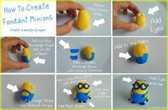 Creating Fondant Minions