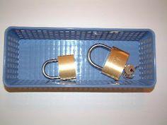 Locks and Keys- color code use multiple