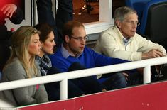 The Duke and Duchess of Cambridge attended an Australian Rugby Union game in Sydney, April 2014 #katemiddleton