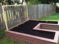 My raised garden bed.