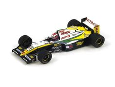 Lotus 109 (Johnny Herbert - Belgian GP in Green and Yellow scale by Spark Johnny Herbert, Rc Cars, F1, Diecast, Lotus, Scale, Yellow, Green, Model