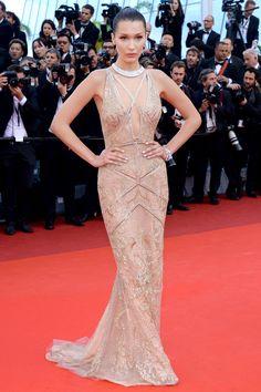 May 11, 2016 - Bella Hadid at the Cannes Film Festival - HarpersBAZAAR.com